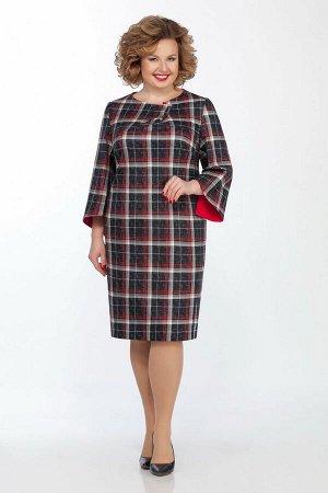 Платье LaKona Артикул: 991-1 синий-красный