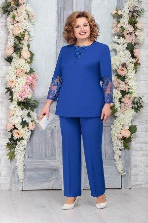 Блуза, брюки Ninele Артикул: 2236 василек