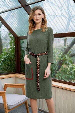 Платье Fantazia Mod Артикул: 3635 хаки