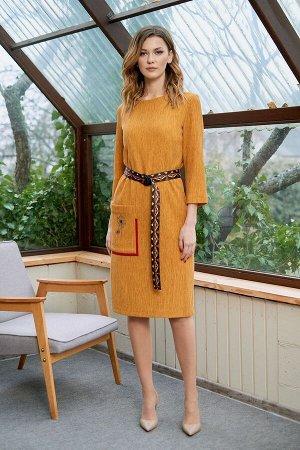 Платье Fantazia Mod Артикул: 3635 горчица