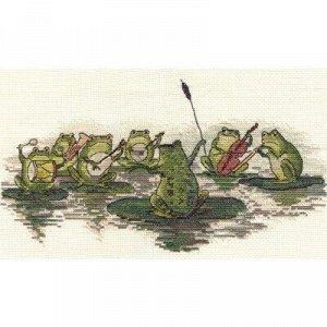 Набор для вышивания Кларт Лягушачий Оркестр