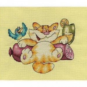 Набор для вышивания Кларт Счастливый Кот