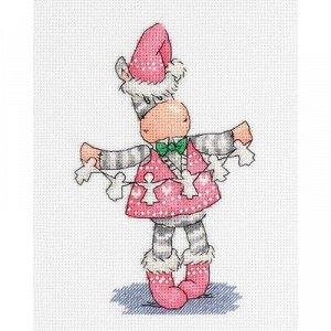 Набор для вышивания Кларт Новогодняя Гирлянда