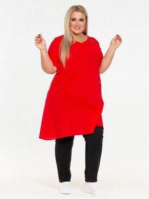 Блузка красный