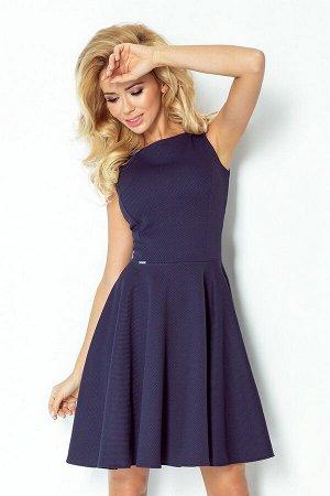 Платье NUMOCO 98-1  Платье-клёш с декольте в форме сердца. Состав: полиэстер 95%, эластан 5%
