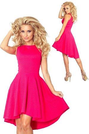 Платье NUMOCO 66-3 lacosta  Эксклюзивное асимметричное платье из высококачественного текстурного материала lacosta. Модель с рас
