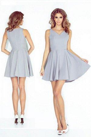 Платье MORIMIA 014-3  Платье-клёш с декольте в форме сердца. Состав: 70% вискоза, 30%полиэстер