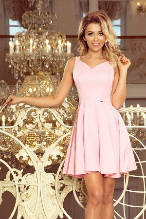 Платье MORIMIA 014-10  Платье-клёш с декольте в форме сердца. Состав: 70% вискоза, 30%полиэстер