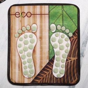 """Массажный коврик """"Эко"""" (для ног), 32 х 36,5 см"""
