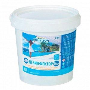 Быстрый стабилизированный хлор Aqualeon гранулы, 1 кг