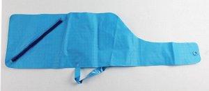 Чехол для удилища мягкий голубой (21х8.5х73см, ручка петля)