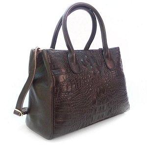 Женская сумка Borgo Antico. Кожа. 8201 coffee