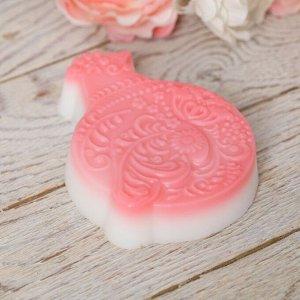 Мыло в форме курочки «Узоры»