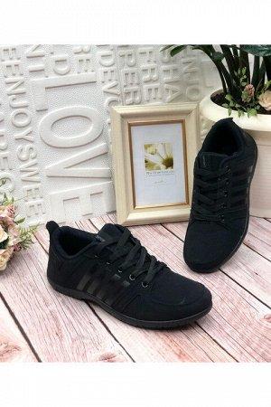 Мужские кроссовки 6069-2 черные