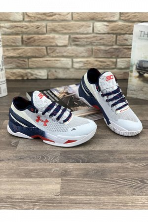 Мужские кроссовки 366-3 бело-синие 42,5-43