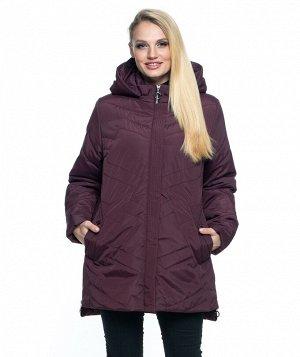 Женская демисезонная куртка батал 54- 70 Код: 104 марсал