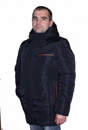 Мужская тёплая зимняя куртка Код: 10 чёрный
