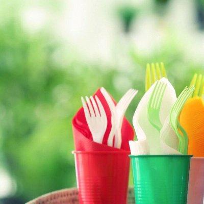 144. Мир упаковки  - для всех. — Посуда одноразовая — Пластмассовая посуда