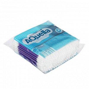 Ватные палочки AQUELLA п/э пакет 200шт, Арт.06450