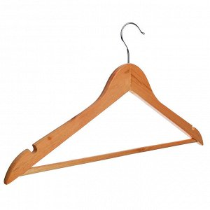 Вешалка для одежды деревянная 45см, ПРОМО