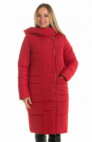 Красная зимняя куртка женская Код: 57 красный