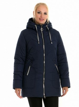 Зимняя женская куртка от производителя Код: 58-1 синий