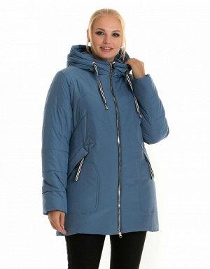 Женская зимняя куртка без меха Украина Код: 58-1 джинс
