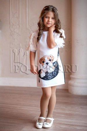 Платье Платье облегающего силуэта, из плотного атласа, с принтом. Полностью на хлопковом подкладе. Спинка однотонная черная. Молния по спинке.***Замеры платья:р.32: ширина 32см, длина от плеча 62смр.3