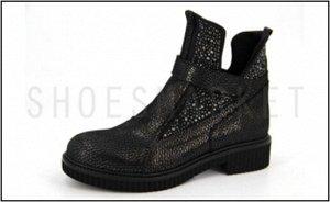 Ботинки жен SandM, зимние, кожа,40 р