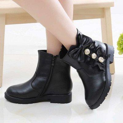 💥Обувь! Супер цены!🍁Одевайся вся семья!🍂Осень-Зима🔥😍    — Демисезонные ботинки и резиновые сапожки для девочек! — Ботинки