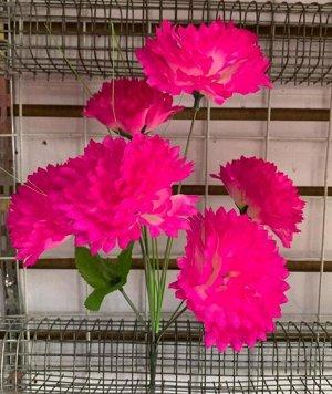 Цветы 6 цветков, 38 см длина Цвета в ассортименте