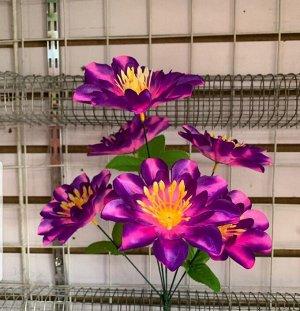 Цветы 6 цветков, 40 см длина