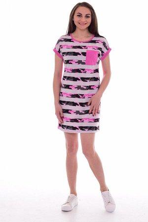 Туника женская 6-161 (розовый)