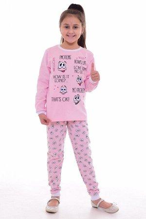 Пижама подростковая 12-077а (розовый)