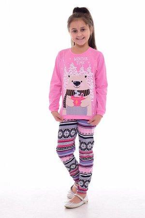 Пижама подростковая 12-069а (розовый)