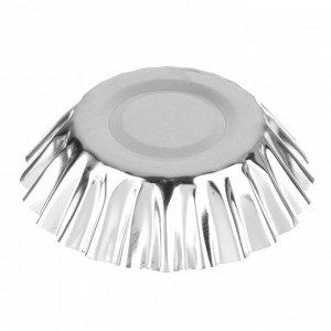 Набор формочек для выпечки кексов 4шт, 7x5x3см, на блистере, ADU0004-4