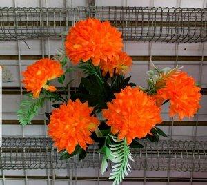 Цветы 6 цветков 40 см длина Цвета в ассортименте
