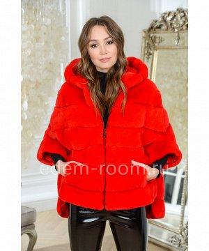 Куртка - кофта из кролика рексАртикул: 525-1-2-70-R-KR