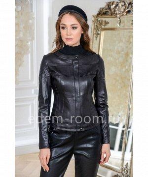 Повседневная куртка, укороченная, чернаяАртикул: G-38-60-CH