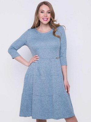 Платье Новая волна (голубая)