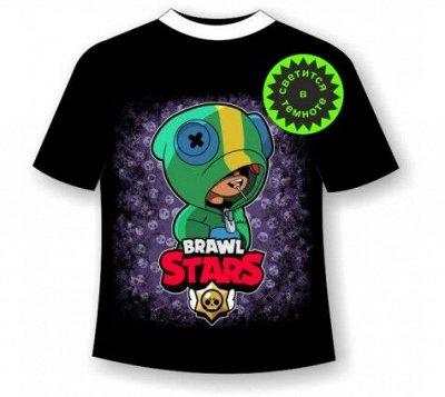 Мир футболок для всей семьи Likee, Brawl Stars  — «Brawl stars»  -  Светящиеся футболки, Толстовки — Футболки