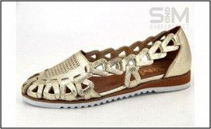 Туфли летние жен SandM на стопу 25,5-26 см