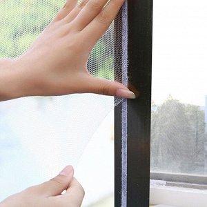 Москитная сетка для окон с крепежной лентой 1,3х1,5м 165-005