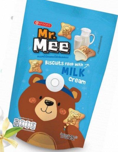Кофе из Японии. Дриппакеты - это удобно! — VFoods Mr.Mee. Печеньки-мишки. Тайланд — Вафли и печенье