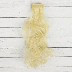 Волосы - тресс для кукол «Кудри» длина волос: 40 см, ширина: 50 см, № 613А