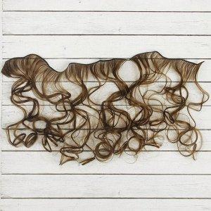Волосы - тресс для кукол «Кудри» длина волос: 40 см, ширина: 50 см, №9