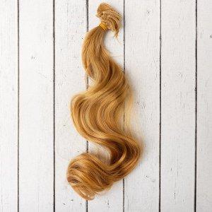 Волосы - тресс для кукол «Кудри» длина волос: 40 см, ширина:50 см, №18