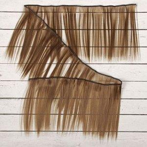 Волосы - тресс для кукол «Прямые» длина волос: 15 см, ширина:100 см, цвет № 18В