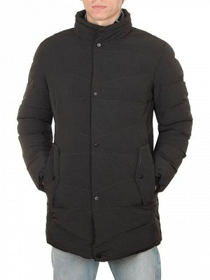 C035 куртка мужская, черная