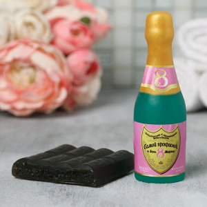 """Набор """"С праздником весны"""" мыло шампанское, мыло шоколад"""